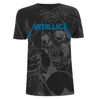 tričko pánské Metallica - Japanese - Justice Black - RTMTLTSBJAP