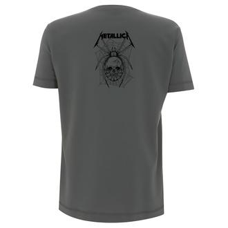 tričko pánské Metallica - Spider - Charcoal - RTMTLTSCHSPI
