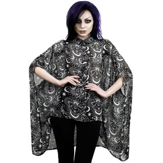 halenka dámská KILLSTAR - NEW MOON BATWING - BLACK, KILLSTAR