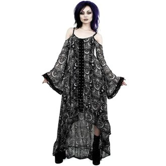 šaty dámské KILLSTAR - NEW MOON MAIDEN - BLACK, KILLSTAR