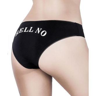 kalhotky dámské KILLSTAR - No Chance - Black, KILLSTAR