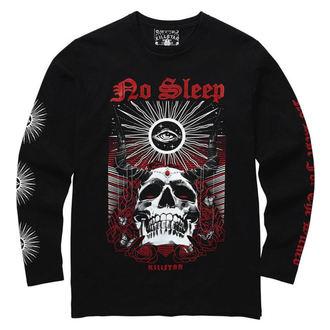 tričko pánské s dlouhým rukávem KILLSTAR - NO SLEEP LONG - BLACK