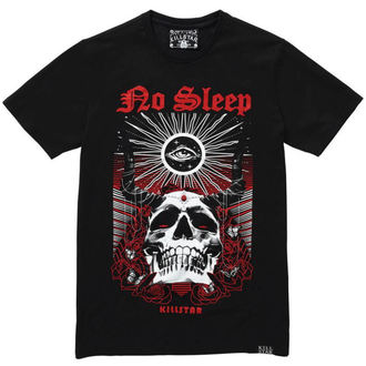 tričko pánské KILLSTAR - NO SLEEP T-SHIRT - BLACK, KILLSTAR