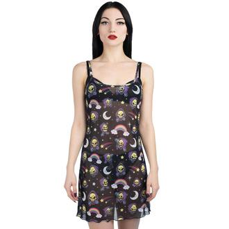 šaty dámské KILLSTAR - Not Cute Mesh - BLACK - KSRA002096