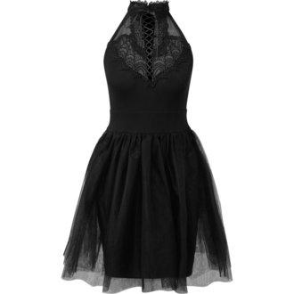 šaty dámské KILLSTAR - NYTE NYMPH PARTY - BLACK - KSRA000163