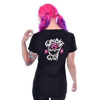 tričko dámské CUPCAKE CULT - NOT WEIRD - BLACK, CUPCAKE CULT