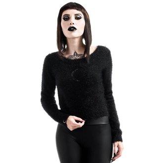 svetr dámský KILLSTAR - Obscura Fuzzy Knit - Black, KILLSTAR