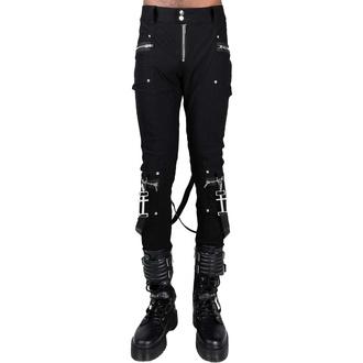 kalhoty pánské KILLSTAR - Office Riot Strappy - Black, KILLSTAR