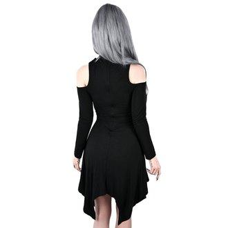 šaty dámské KILLSTAR - Onyx Fall-Deep - BLACK, KILLSTAR