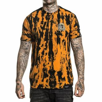 tričko pánské SULLEN - ORANGE CRUSH - BLACK/APRICOT - SCM2665_BAPC
