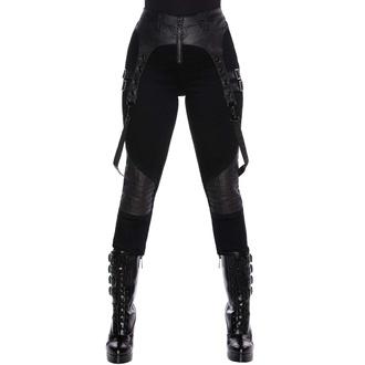 kalhoty dámské KILLSTAR - Outshined Denim Jeans - BLACK, KILLSTAR