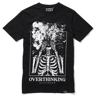 tričko pánské KILLSTAR - OVERTHINKING - BLACK, KILLSTAR