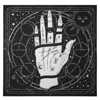 vlajka KILLSTAR - Palmistry - BLACK, KILLSTAR
