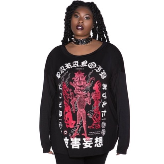 tričko dámské s dlouhým rukávem KILLSTAR - Paranoid, KILLSTAR