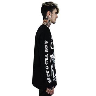 tričko pánské s dlouhým rukávem KILLSTAR - Party - BLACK, KILLSTAR