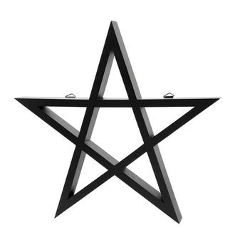 dekorace KILLSTAR - PENTAGRAM - BLACK, KILLSTAR
