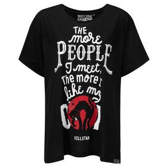 tričko dámské KILLSTAR - People Suck Relaxed - BLACK