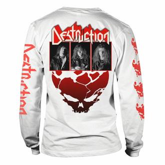 tričko pánské s dlouhým rukávem DESTRUCTION - ETERNAL DEVASTATION - BLACK & WHITE - PLASTIC HEAD, PLASTIC HEAD, Destruction