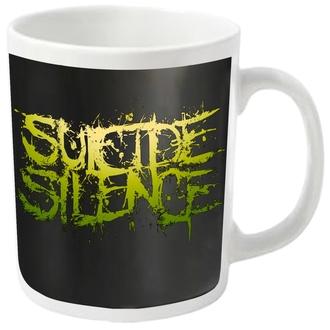 hrnek SUICIDE SILENCE - LOGO - PLASTIC HEAD, PLASTIC HEAD, Suicide Silence