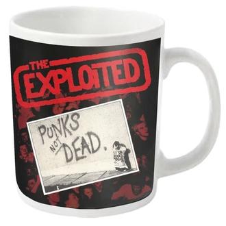 hrnek EXPLOITED - PUNKS NOT DEAD - PLASTIC HEAD, PLASTIC HEAD, Exploited