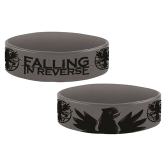 náramek gumový FALLING IN REVERSE - EAGLE - PLASTIC HEAD, PLASTIC HEAD, Falling In Reverse