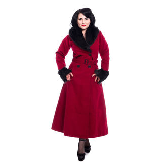 kabát dámský Rockabella - BIANCA - RED, ROCKABELLA
