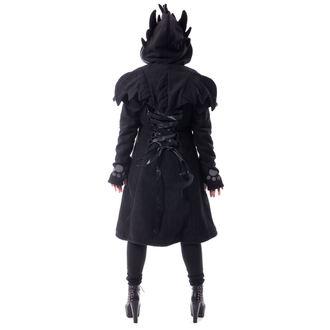 kabát dámský CUPCAKE CULT - FURY - BLACK, CUPCAKE CULT