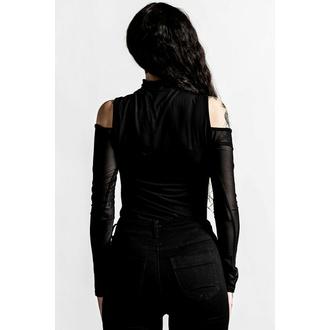 tričko dámské s dlouhým rukávem KILLSTAR - Point It Out - Black, KILLSTAR
