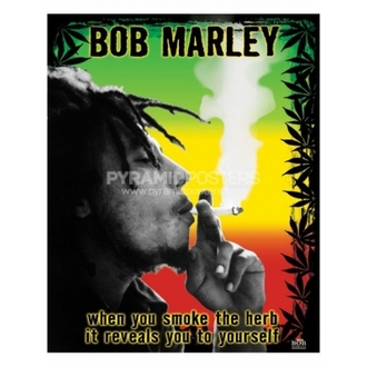 Plakát - Bob Marley (Herb) - PP0978, PYRAMID POSTERS, Bob Marley