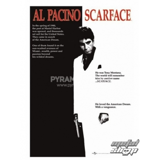 plakát Scarface (Movie One-sheet) - PP30091, PYRAMID POSTERS, Scarface