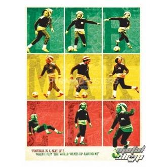 plakát Bob Marley (Football) - PP30504, PYRAMID POSTERS, Bob Marley
