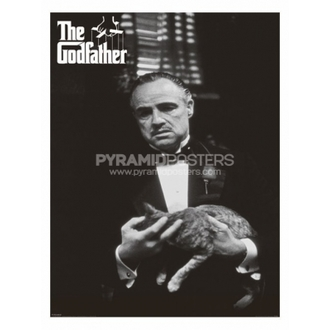 plakát - Kmotr (Cat B&W) - PP30526, PYRAMID POSTERS