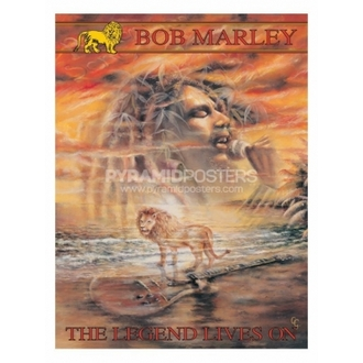 plakát - Bob Marley (Legend Lives On) - PP30664 - Pyramid Posters