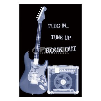 plakát Plug In... Tune Up... Rock Out - PP31159 - PYRAMID POSTERS