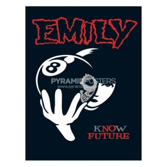 plakát - Emily The Strange (8 Ball) - PP31297, EMILY THE STRANGE