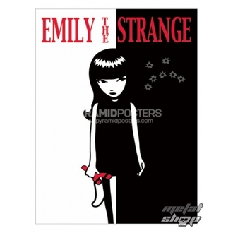 plakát - Emily The Strange (Strange Face) - PP31523, EMILY THE STRANGE