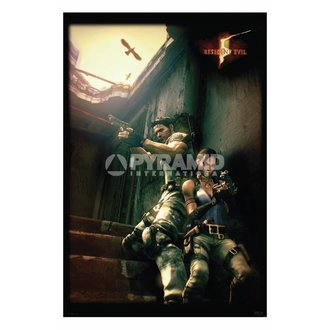 plakát Resident Evil 5 (Against A Wall) - PP31862, PYRAMID POSTERS