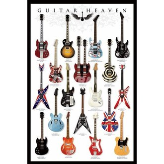 plakát Guitar Heaven - PYRAMID POSTERS, PYRAMID POSTERS