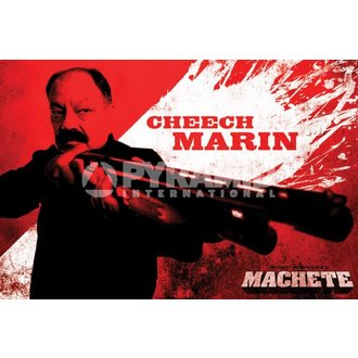 plakát Neca - Machete (Cheech) - PYRAMID POSTERS