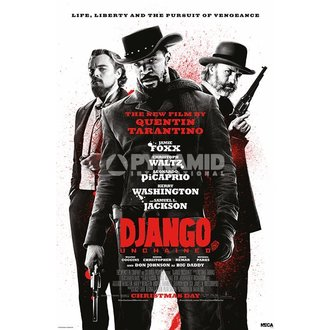 plakát Django Unchained - Lifa Liberty - Pyramid Posters, PYRAMID POSTERS