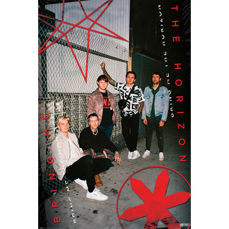 plakát BRING ME THE HORIZON - RED EYE - PYRAMID POSTERS, PYRAMID POSTERS, Bring Me The Horizon