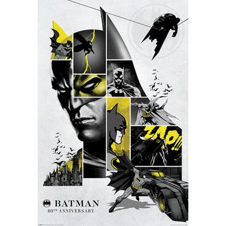 plakát BATMAN - 80th ANNIVERSARY - DC COMICS - PYRAMID POSTERS, PYRAMID POSTERS, Batman
