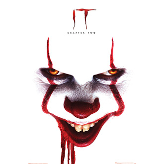 plakát TO 2 - Pennywise face - PYRAMID POSTERS, PYRAMID POSTERS