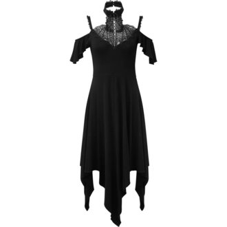 šaty dámské KILLSTAR - PYRE PIXIE EVENING - BLACK