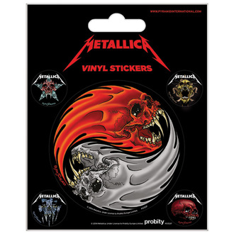 samolepky Metallica - PYRAMID POSTERS - PS7237