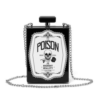 taška (kabelka) KILLSTAR - Pure Poison Clutch - BLACK