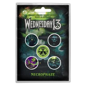 placky WEDNESDAY 13 - NECROPHAZE - RAZAMATAZ, RAZAMATAZ, Wednesday 13