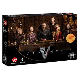 puzzle Vikingové - Ragnar's Court, NNM