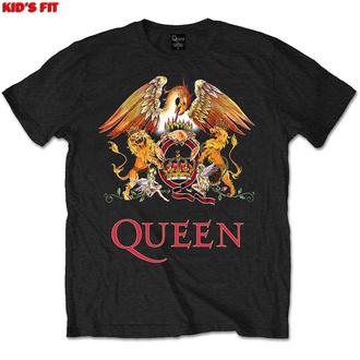 tričko dětské Queen - Classic Crest - ROCK OFF, ROCK OFF, Queen