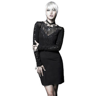 šaty dámské PUNK RAVE - Black Nightingale, PUNK RAVE